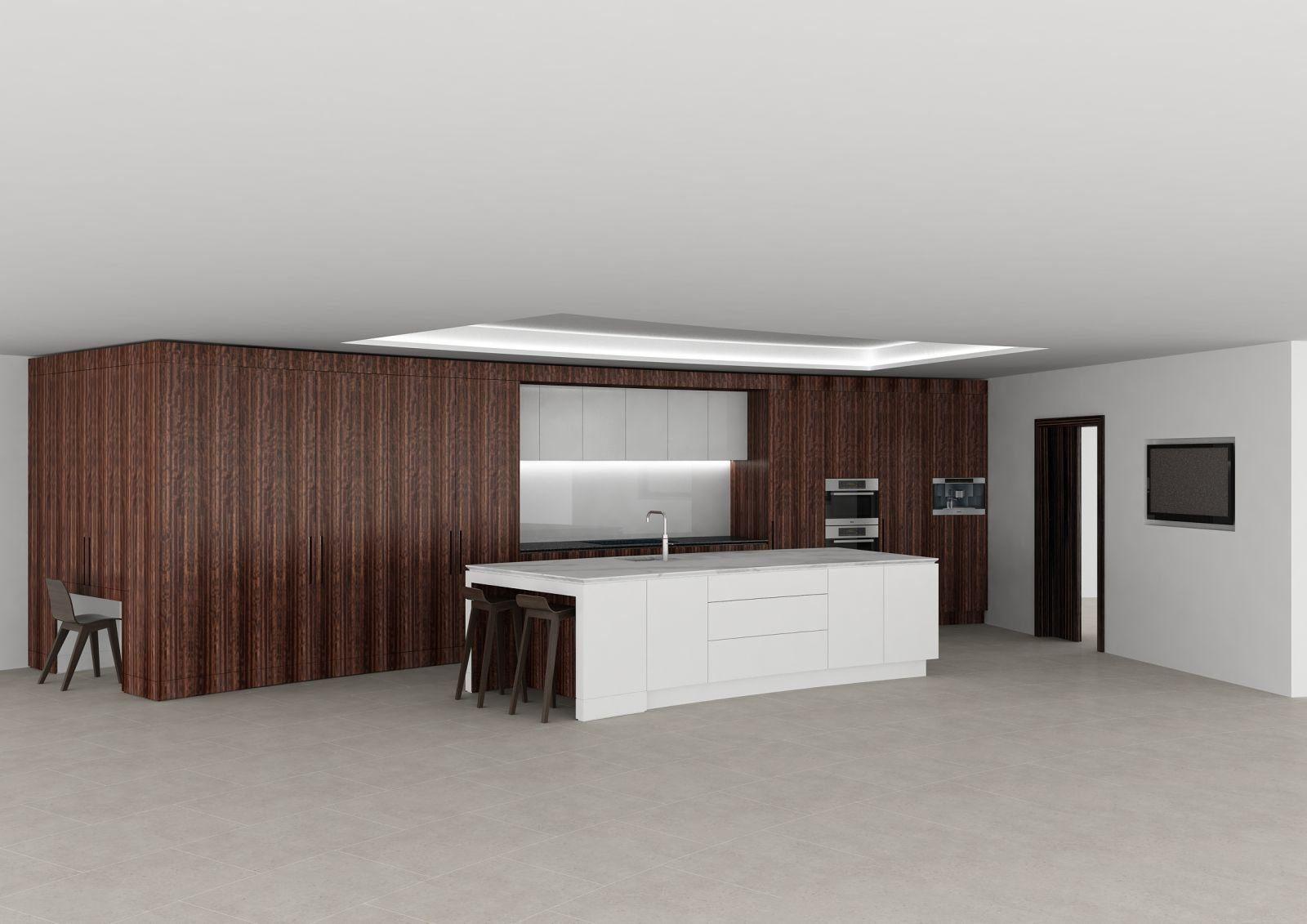 Brammell kitchen V2 - View 1 - Closed - No Column