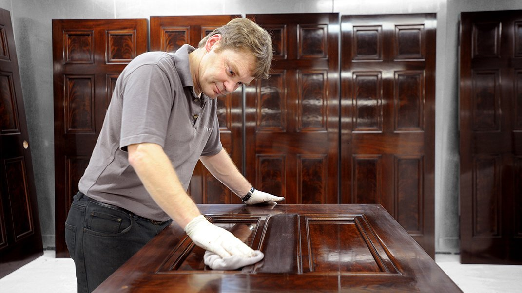 The Dark Art of Specialist Wood Finishing