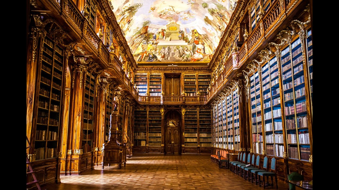 Baroque Library Design