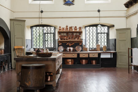 The Kitchen at Dunham Massey, Cheshire.