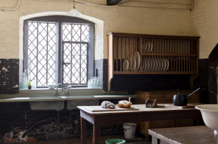 The Scullery at Dunham Massey, Cheshire
