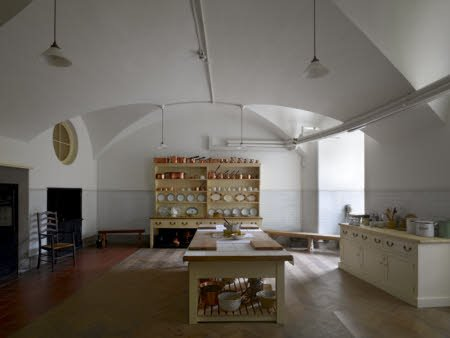 The Kitchen in the Basement at Ickworth, Suffolk.