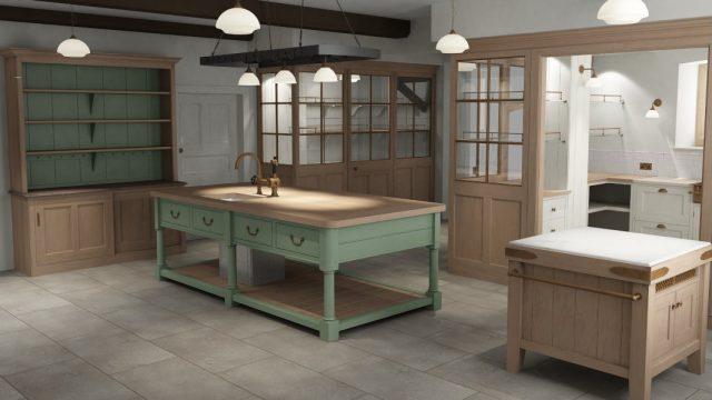 Jacobean Country House Kitchen