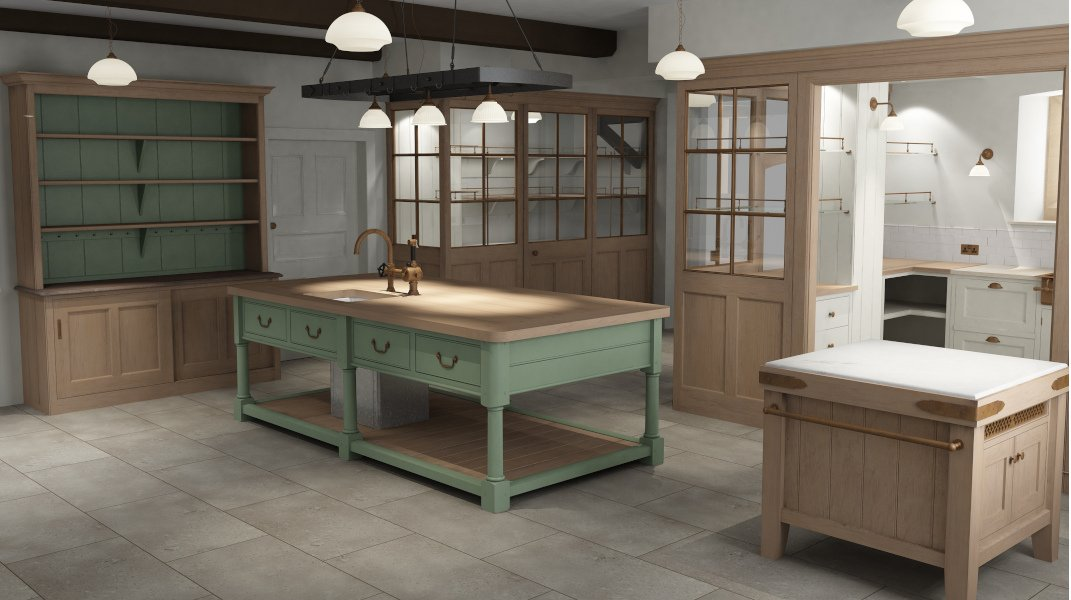 Jacobean Country House Kitchen & Pantry