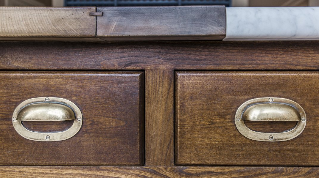 close up of drawers