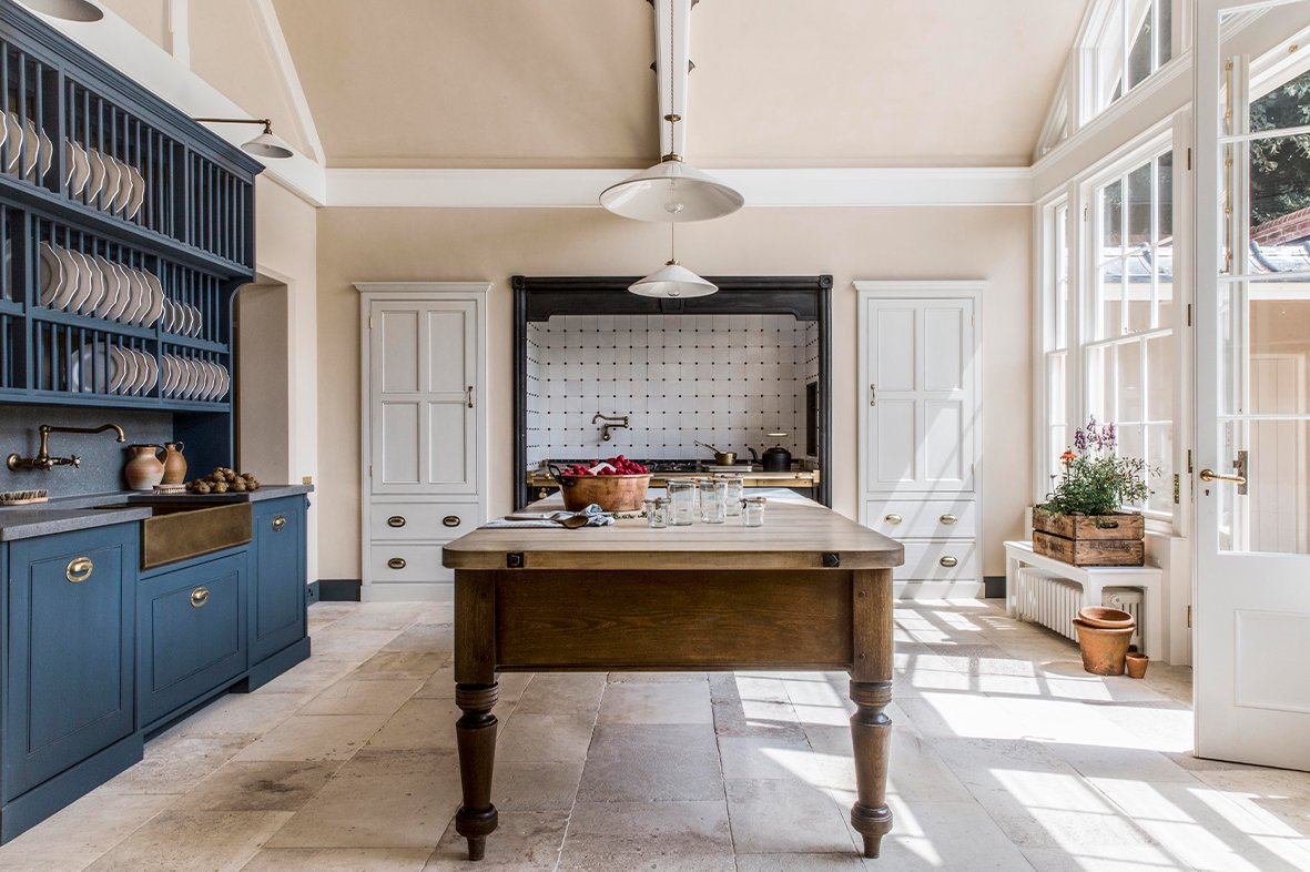 A Victorian Kitchen For An English Country Manor Artichoke
