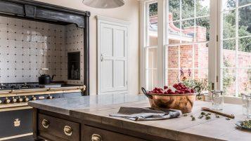 Kitchen in Queen Anne House