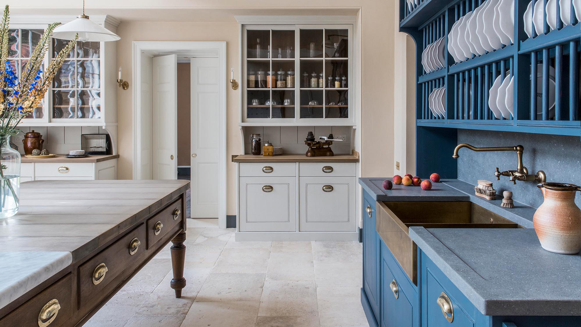 Victorian Kitchen inspired by Lanhydrock House