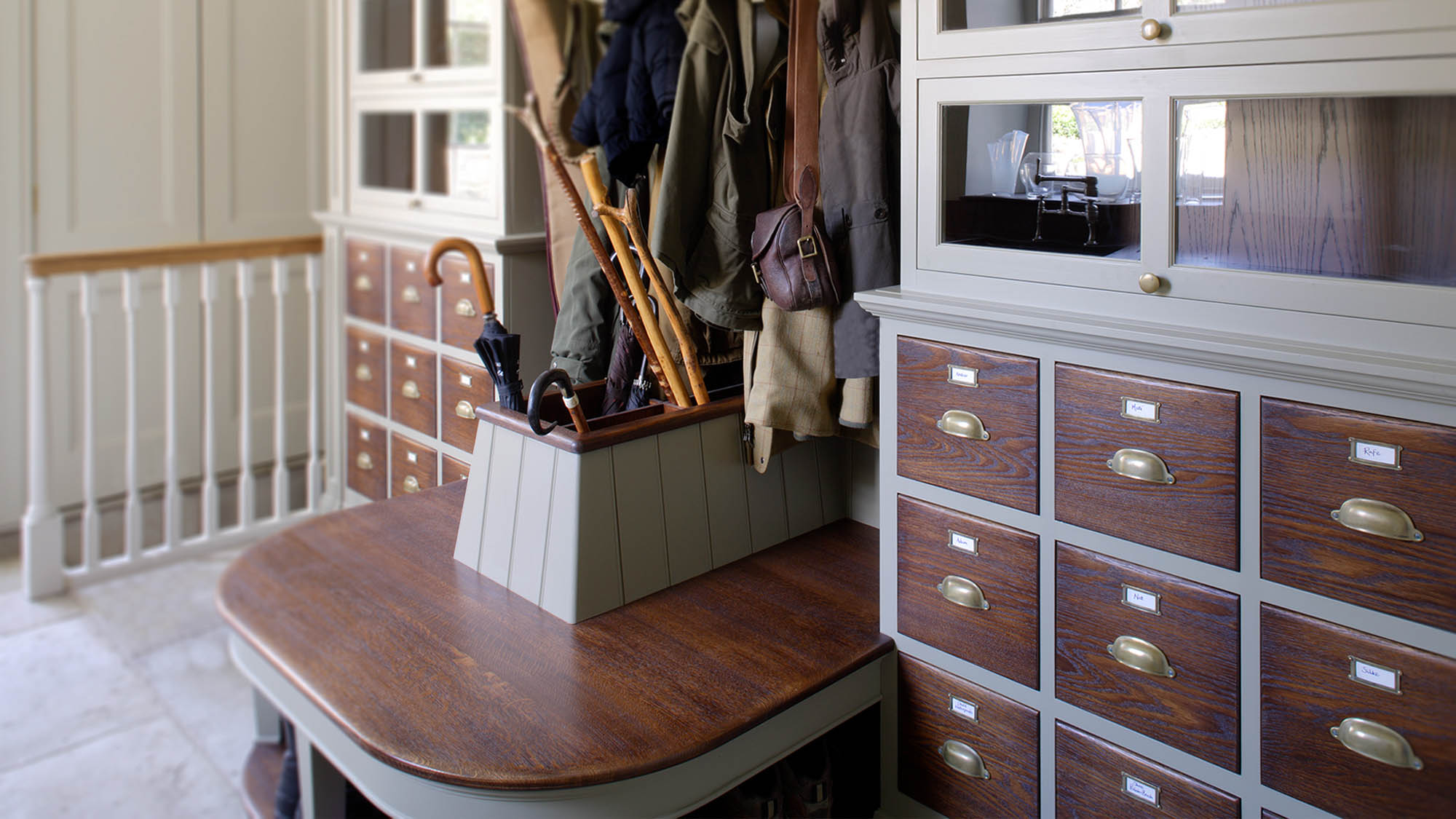 Edwardian Boot Room in a Grade II Listed Country home