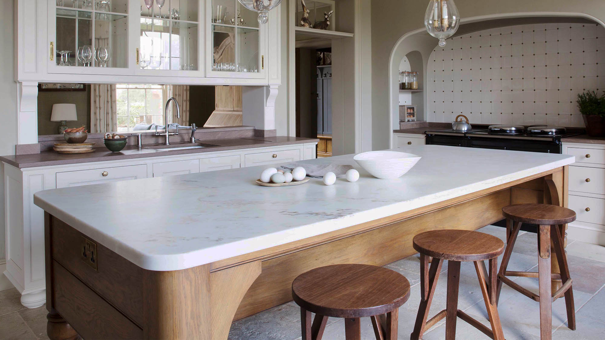 Georgian Kitchen for a Grade II Listed Cheshire Hall