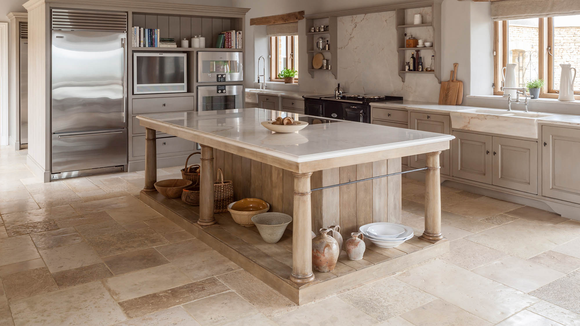 Flemish inspired Kitchen for a Gloucestershire home