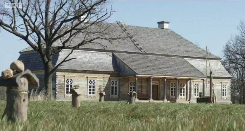 Country house from BBC's War and Peace.
