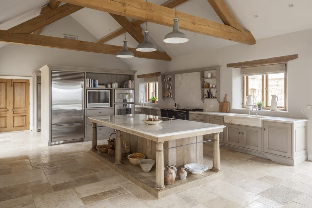 Electric Total Control Aga in country house kitchen
