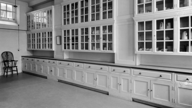 An image of a Lutyens designed butler's pantry in Middleton Park