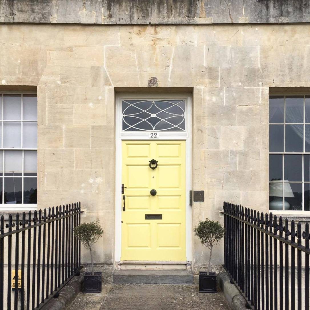 yellow door the royal cresent bath