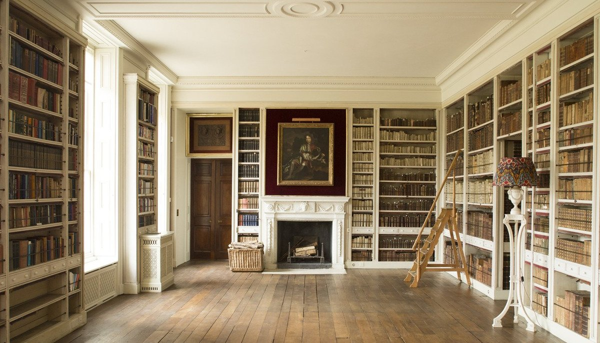 library in st giles house