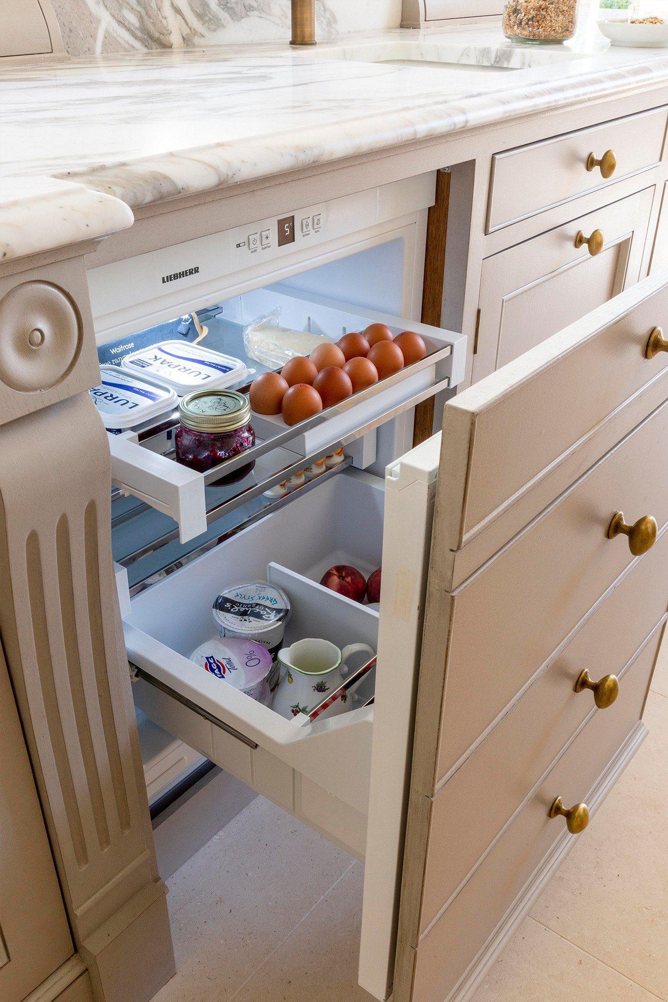 Cold storage under counter fridge