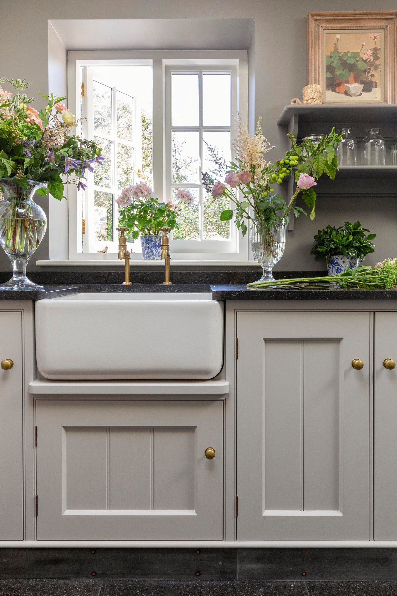 Flower and boot room cabinets
