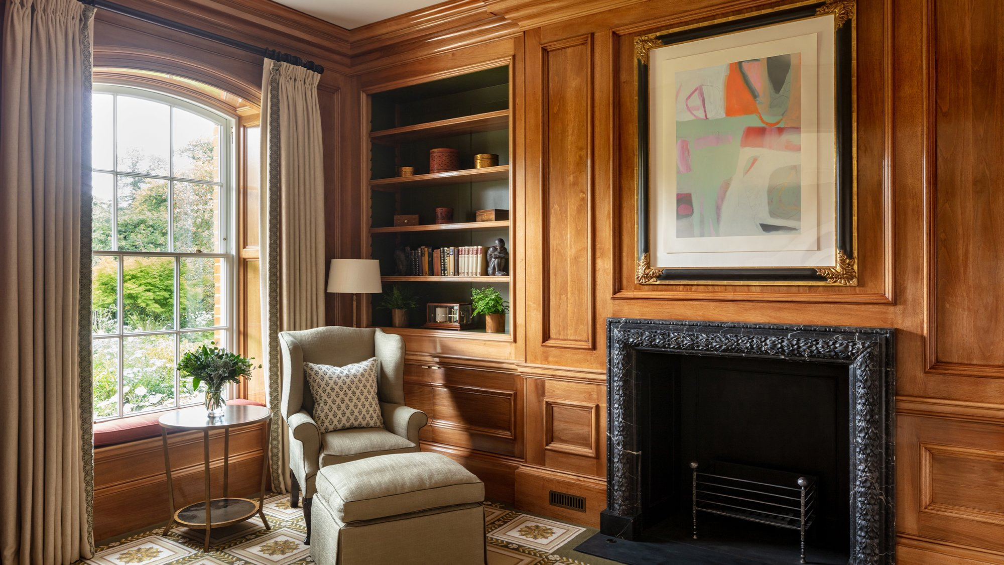 Panelled Study | New Build | Berkshire