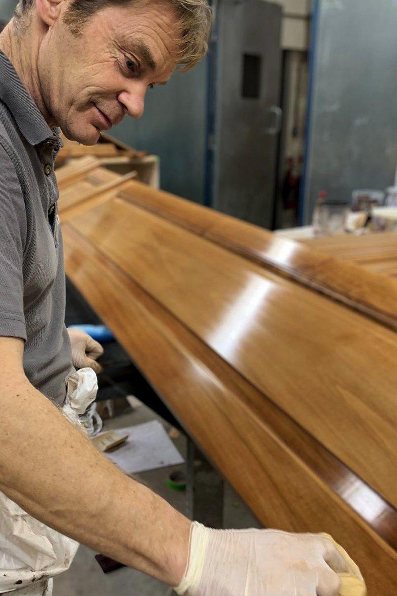artichoke craftsmen wood finishing techniques