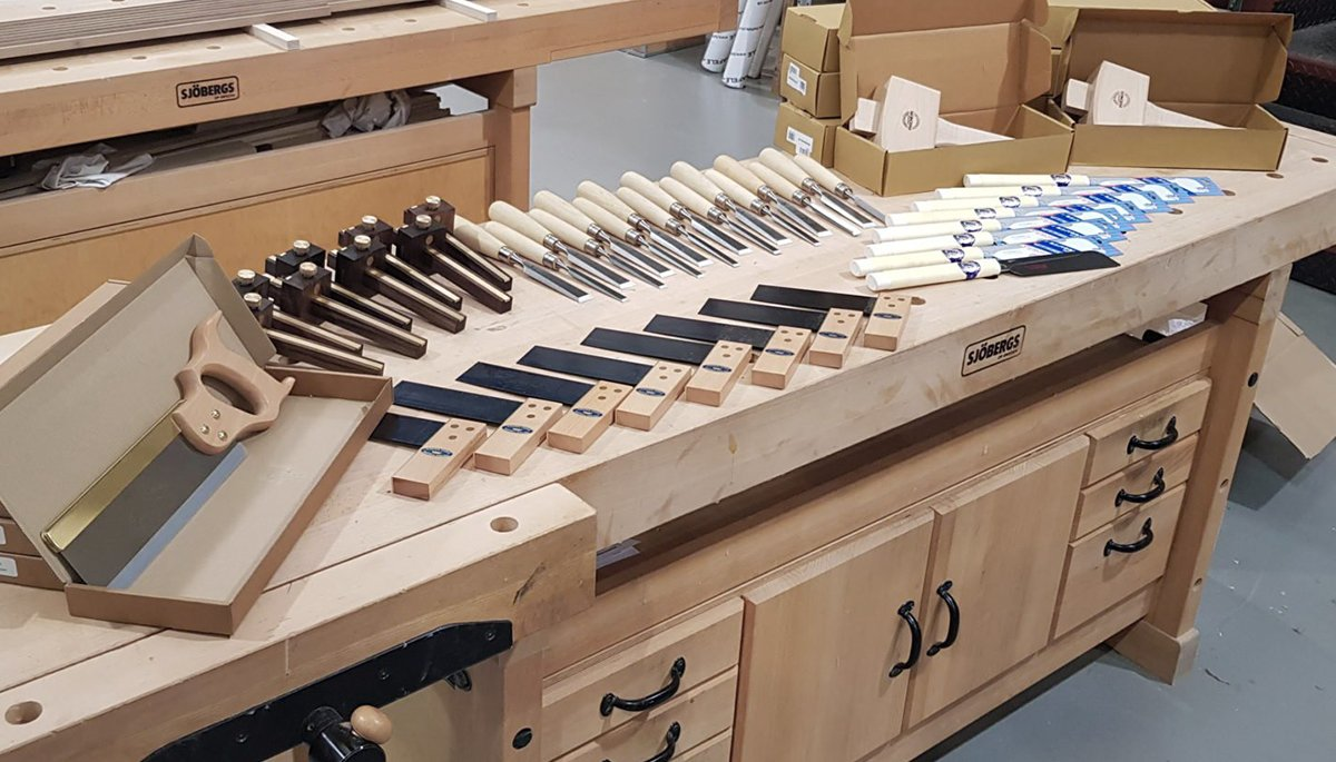 artichoke school of joinery tools