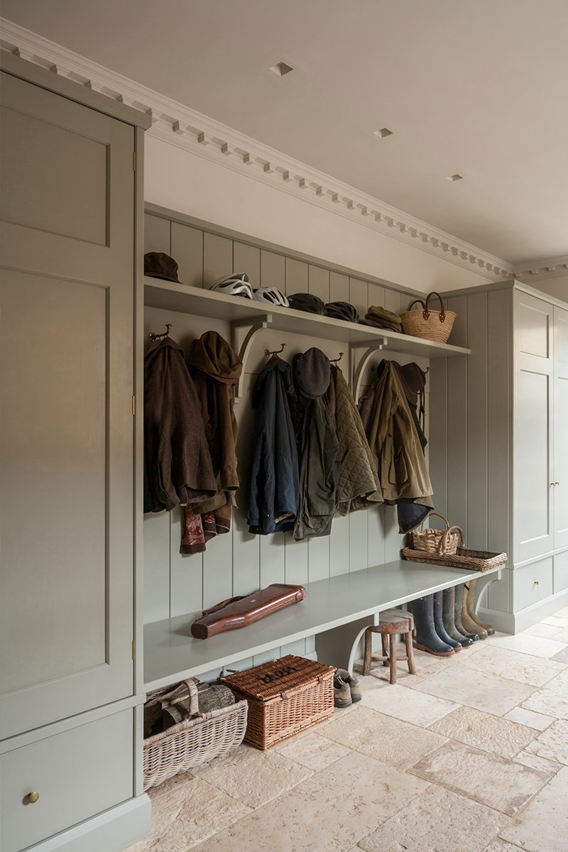country house boot room design