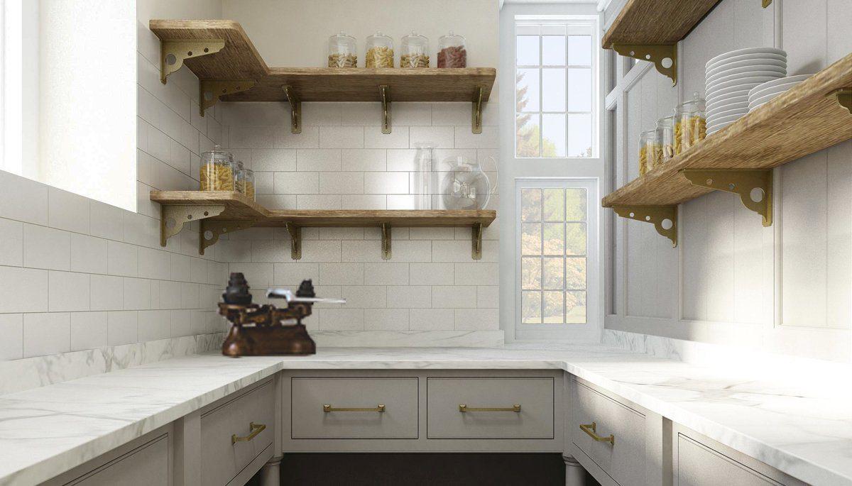 custom pantry design interior