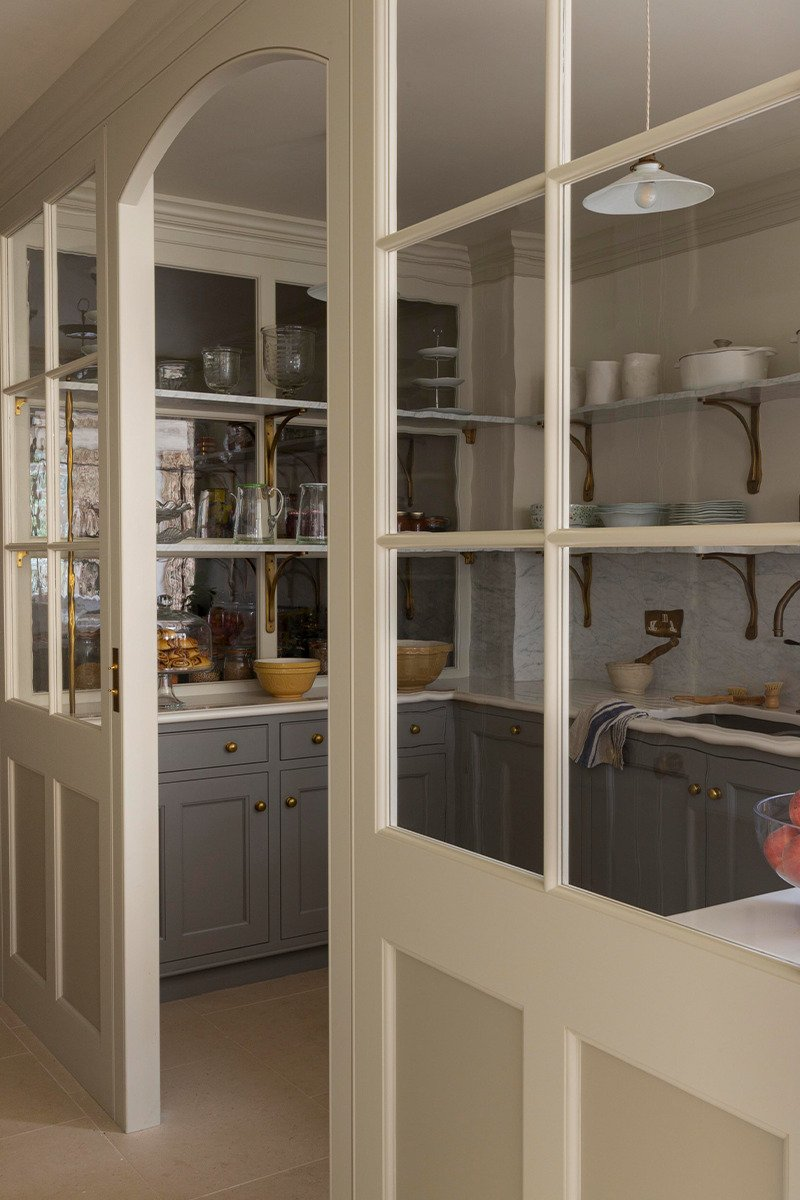 kitchen scullery design cold store