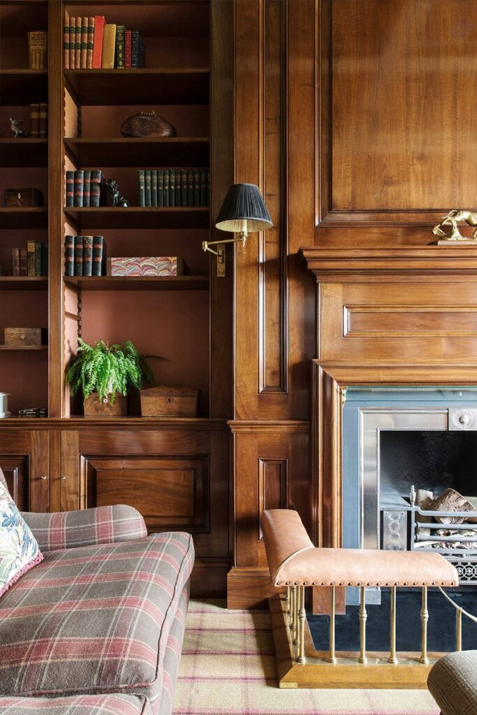 library traditional joinery