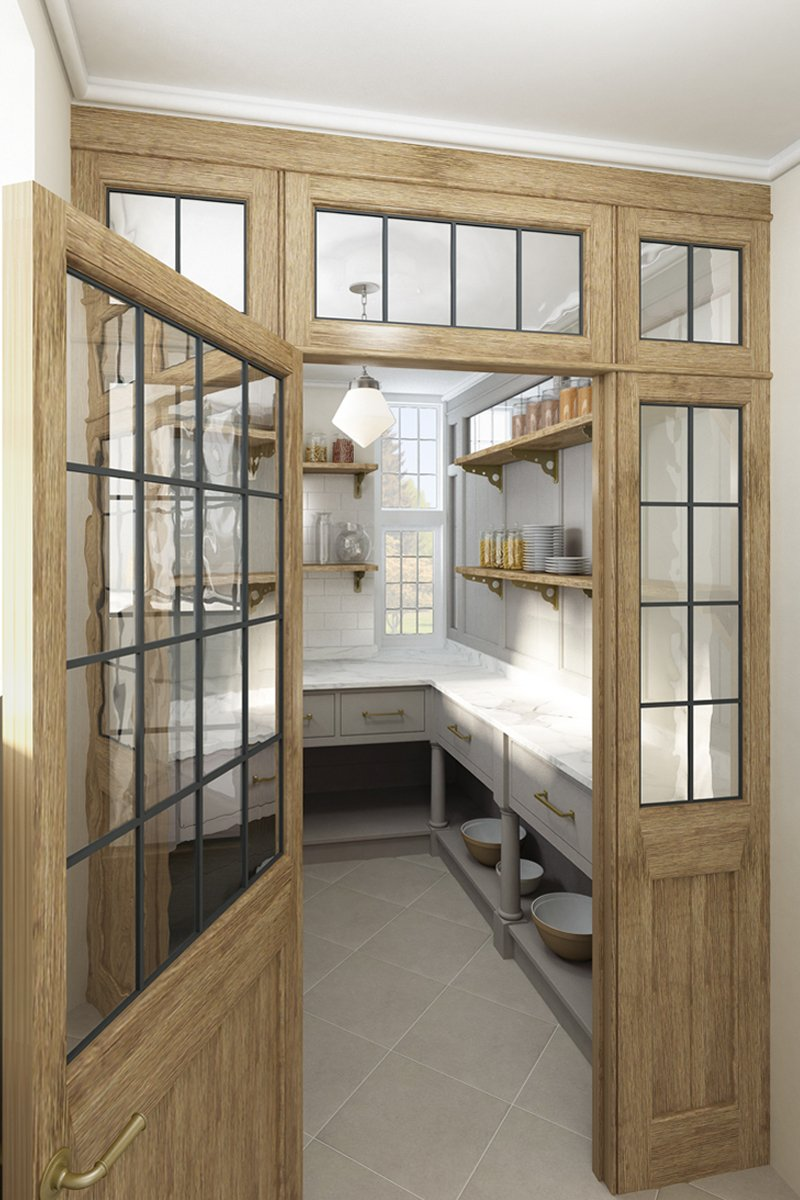 pantry room design features