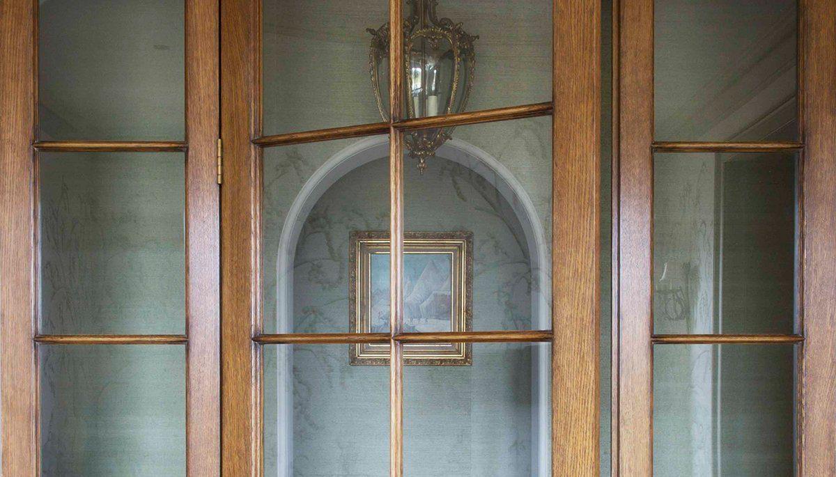 period property renovation glazed door detail