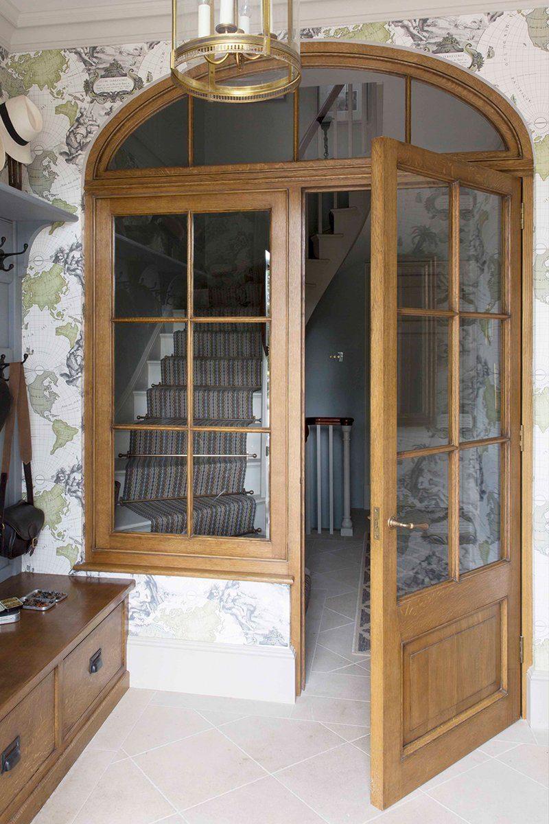 period property renovation glazed door