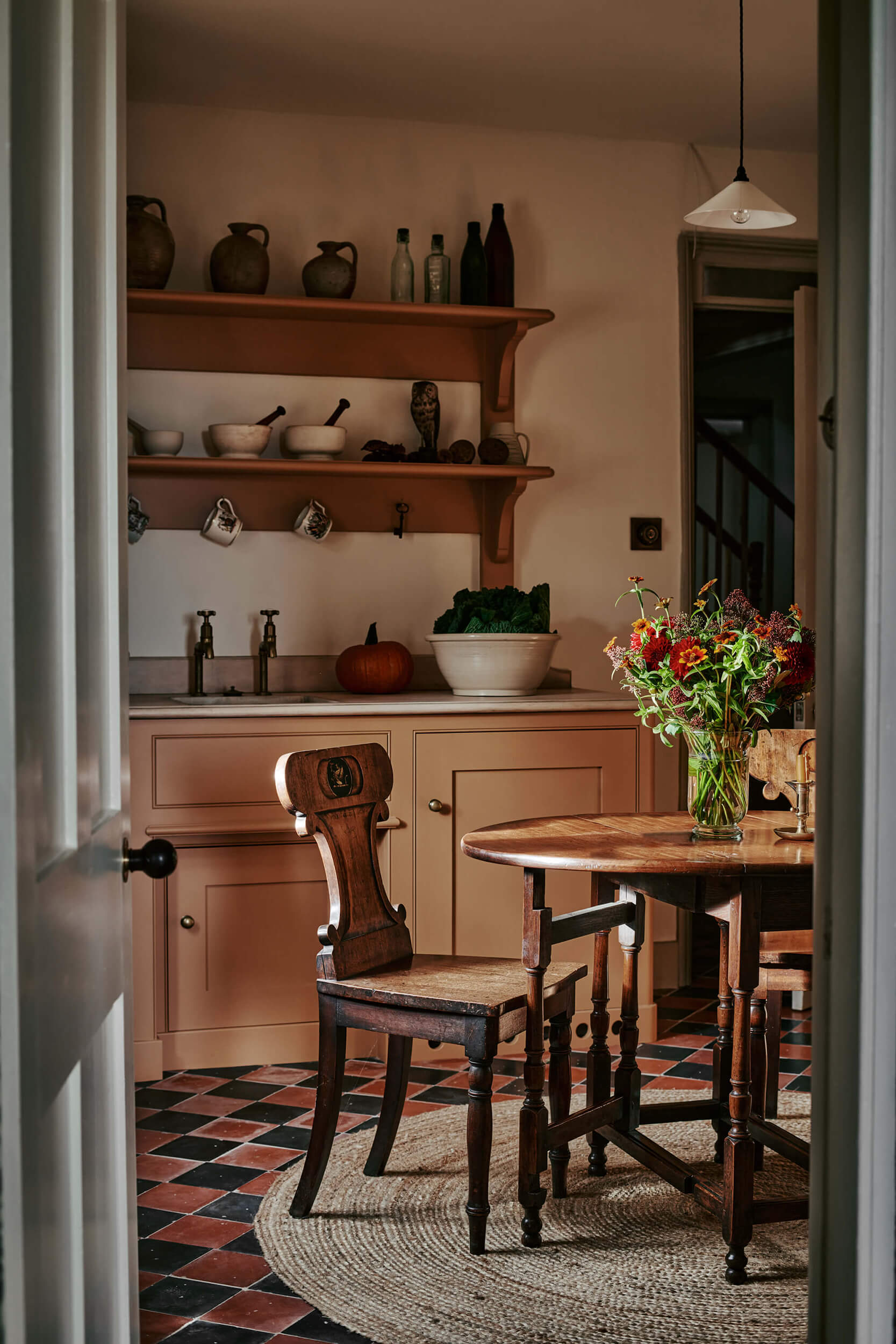 Back kitchen with Farrow and Ball wet sand